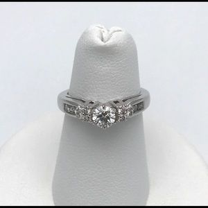 Jewelry - 14kt WG Diamond Engagement Ring .65ct (tw) 4.25